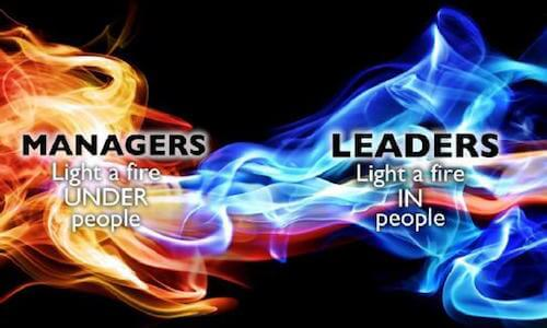 Mgrs vs leaders