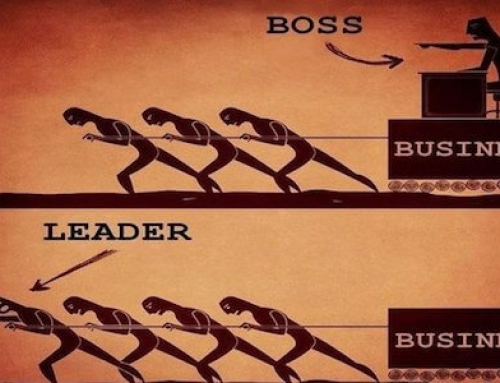A Boss Can Never Be A Leader