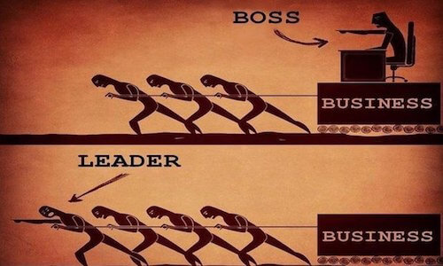 boss or leader