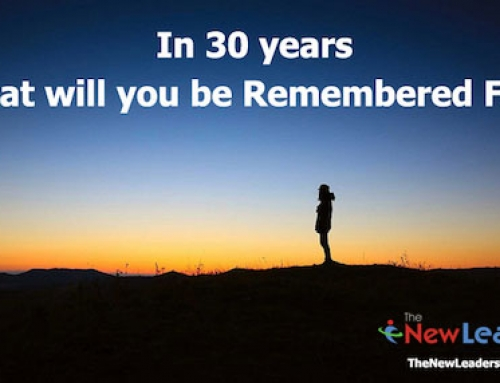 Resume or Eulogy? What Will Be Your Legacy?
